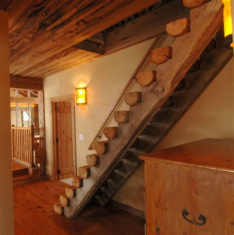 rustic staircase rustic staircase