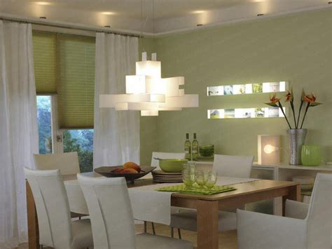 Dining Room Lighting Concept Ideas Over High Gloss Room Light