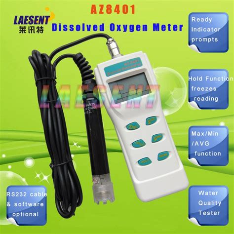 Promo Eutech Do450 Dissolved Oxygen Meter dissolved oxygen meter water quality tester do meter az 8401 in testing equipment from industry