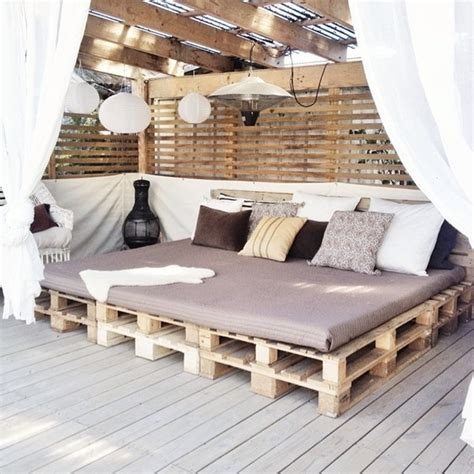 holzpaletten sofa relaxation goals make your backyard feel like a resort
