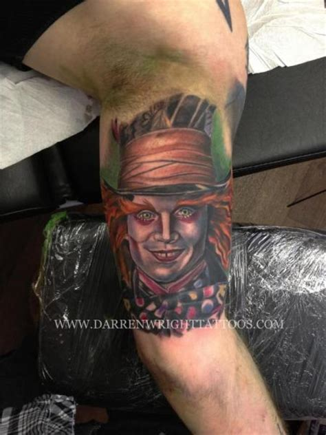 arm fantasy johnny depp tattoo by darren wright tattoos