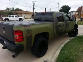 camo wrapped camo truck