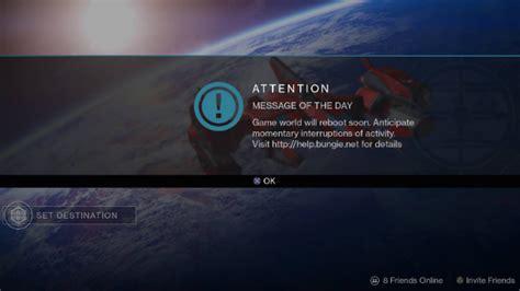 rainbow six siege server in manutenzione nel pomeriggio destiny un aggiornamento di destiny per riavviare il