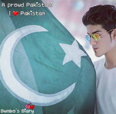 boy  pakistani flag