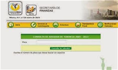consulta adeudo tenencias puebla gob mx tenencia mexico df multas infracciones secretaria de