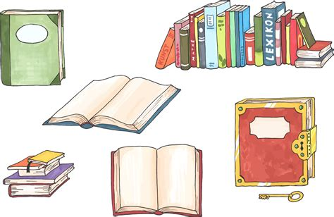 clipart illustrations clipart books illustration