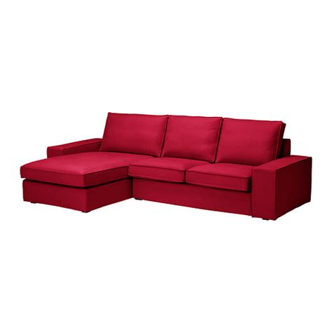 Kivik Sofa And Chaise Lounge Fabric Sectional Sofas Couches Ikea