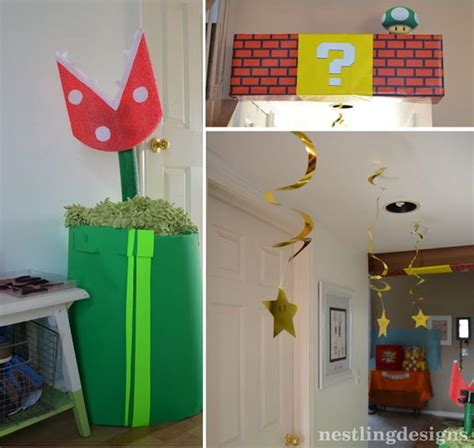 Mario Decorations by Mario Brothers Birthday Planning Ideas