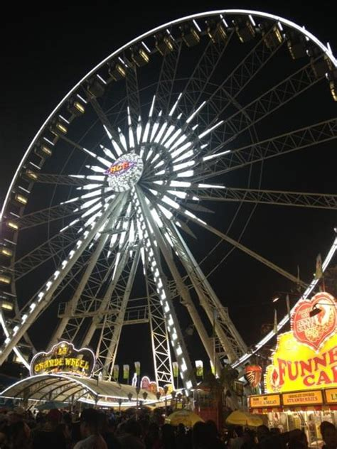 the talon state fair gives the ride of their