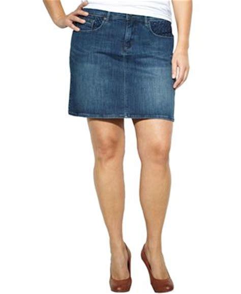levi s 174 plus size skirt denim skirts plus sizes macy s