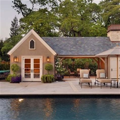 Garage Pool House Plans Garage Pool House Combination Pools