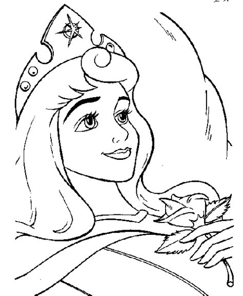 sleeping beauty coloring page print sleeping beauty
