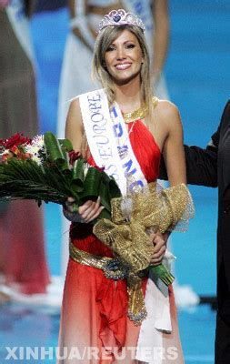 Alexandra Rosenfeld Crowned Miss Europe 2006 2 by S Daily Crowned Miss Europe