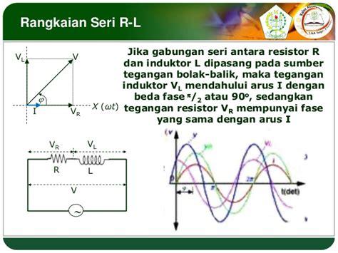 Xl Seri 334 rangkaian seri r l c dan resonansi