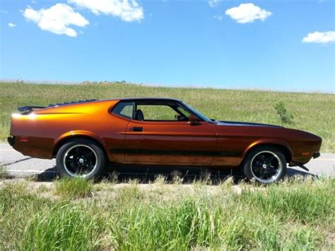 1973 ford mustang sportsroof fastback mach 1 burnt orange for sale used cars for sale 1973 ford mustang sportsroof fastback mach 521 1972 1971 1970 1969 1968 1967 for sale photos