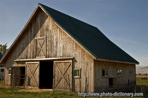 rustic barns rustic barn photo picture definition at photo dictionary