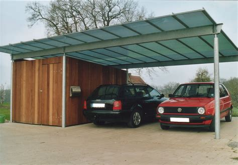 glas carport carport heidacker edelstahlm 246 bel metallkonstruktionen