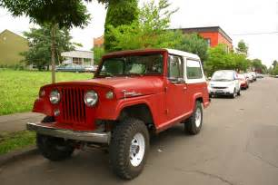Jeep Comando Parked Cars 1968 Jeep Jeepster Commando