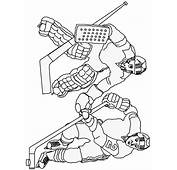 Printable Hockey 9 Sports Coloring Pages