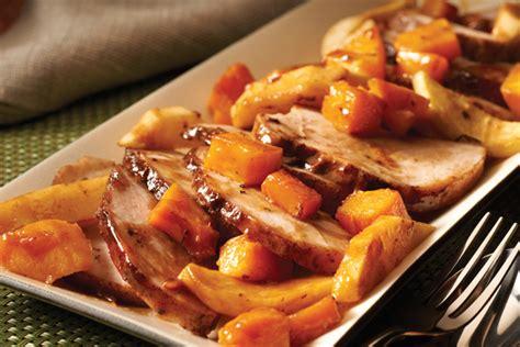 cuisine roti de porc r 244 ti de porc 233 pic 233 aux pommes cuisin 233 224 l avance kraft
