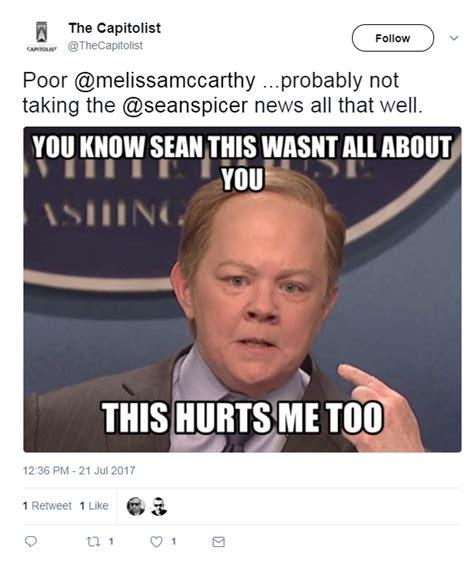 Resignation Letter Meme Spicer S Resignation Celebrated With Memes Houston Chronicle