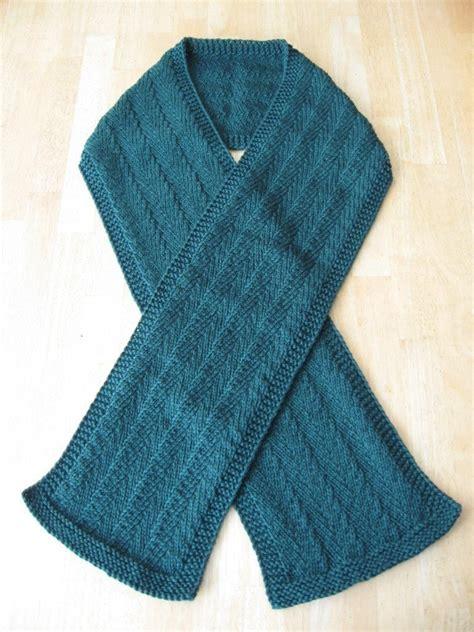 knitting pattern herringbone scarf randall herringbone scarf knitting pattern pdf digital