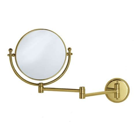 swing arm vanity mirror premier polished brass swing arm mirror gatco vanity