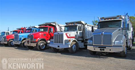 kw trucks for sale save on kenworth dump trucks for sale in nj