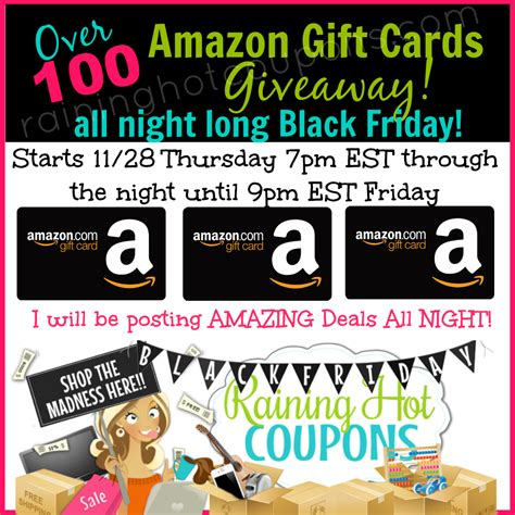 Hot Topic Gift Card Code - win lots of amazon gift cards codes tomorrow here s how