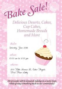 bake sale flyer template free bake sale poster template how to design a bake sale poster