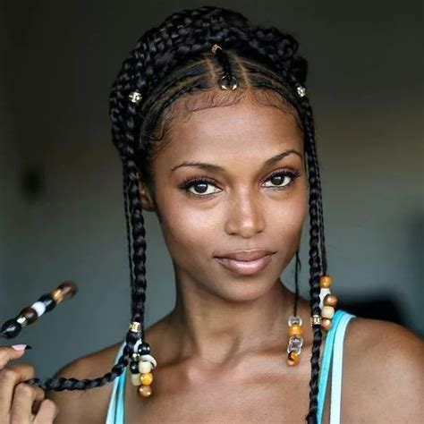 afro braids minmising the appearance of a receding hairline nigerian hairstyles braiding styles in 2018 naija ng