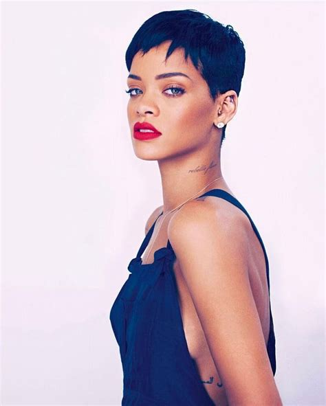 Best 25  Rihanna pixie cut ideas on Pinterest   Rhianna