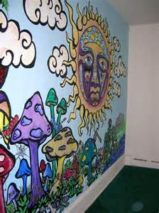 love art music rock painting home shrooms psychedelic diy reggae trippy bongs and wall murals on pinterest