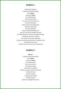 wedding vows template free wedding vows sles 2 pdf 5 page s