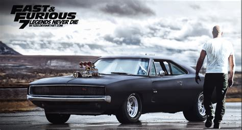fast and furious dodge charger the cars of fast furious 7 daily urban culture