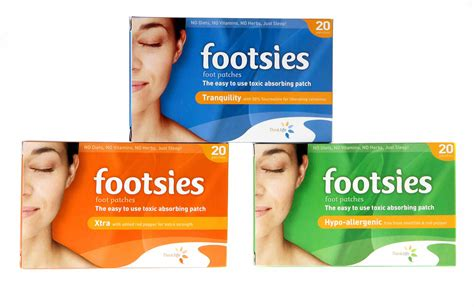 Asian Detox Foot Pads by Footsies Japanese Detox Foot Patches Best Detox Foot