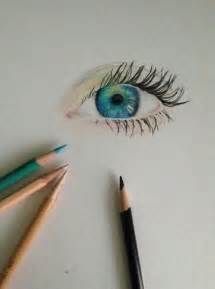 easy colored pencil drawings eye drawing draw drawing