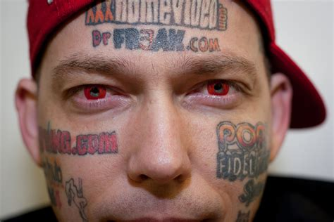 tattooed face dumbest tattoos