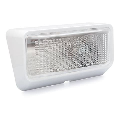 rv replacement light fixtures lumitronics rv exterior porch utility light 12v lighting