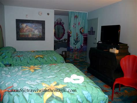mermaid room of animation disney s of animation resort mermaid rooms travel with the magic travel