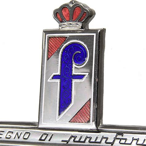 pininfarina emblem italian auto parts gagets