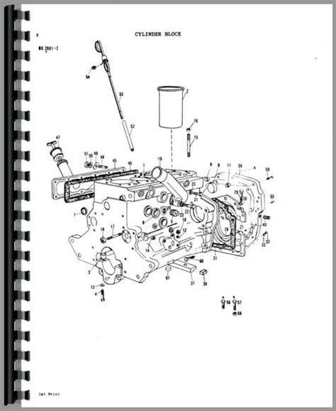 massey ferguson 245 parts diagram massey ferguson 1080 tractor parts manual