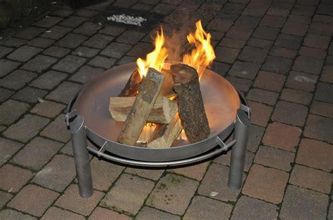 feuerschale stahl oder edelstahl feuerschalen edelstahldesign werther