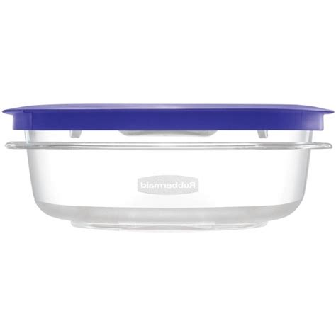 large food container rubbermaid brilliance food storage container large 9 6 cup clear storage designs