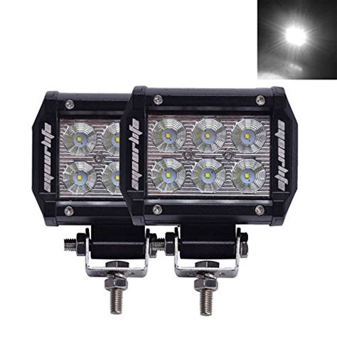 Best Review Of Eyourlife 18w Led Work Light Cree Led 4x4 Best Led Light Bar For 4x4