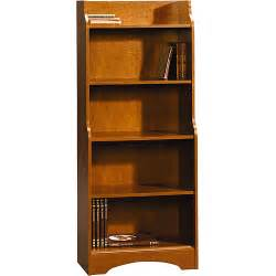 walmart bookshelves sauder graham hill 5 shelf bookcase walmart
