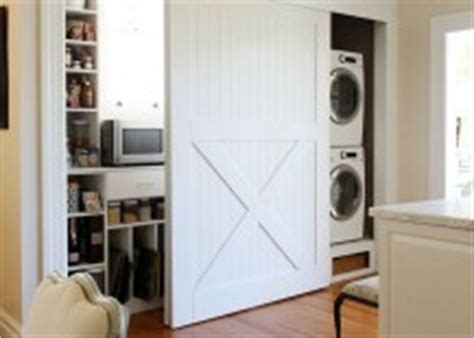 doors to hide washer and dryer 15 laundry spaces that cleverly conceal their unsightly