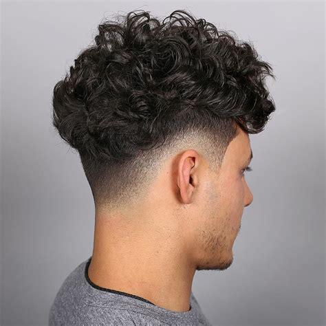 cool medium curlys hair fades medium hairstyles for men
