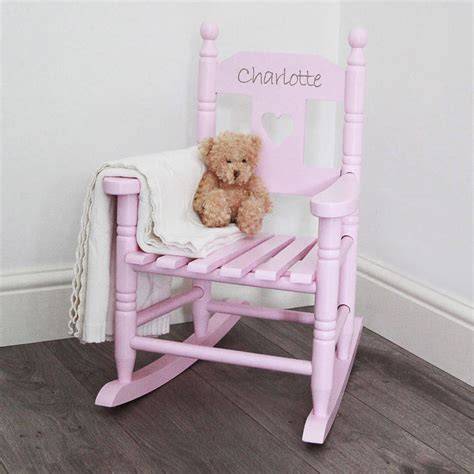toddler armchair uk personalised child s rocking chair by my 1st years