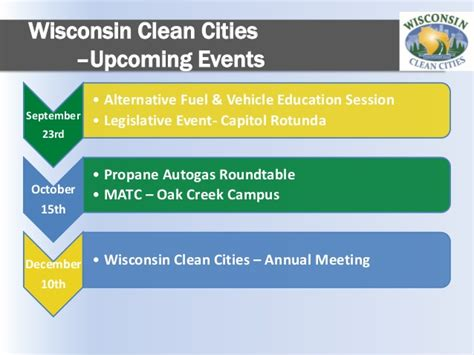 Of Wisconsin Mba Cost by 2015 Fall Gas Roundtable Wisconsin Clean Cities